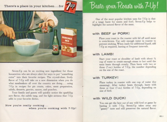 Inside 7-up booklet