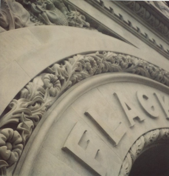 Detail of Flack building in Vancouver. Photo: C. Hagemoen