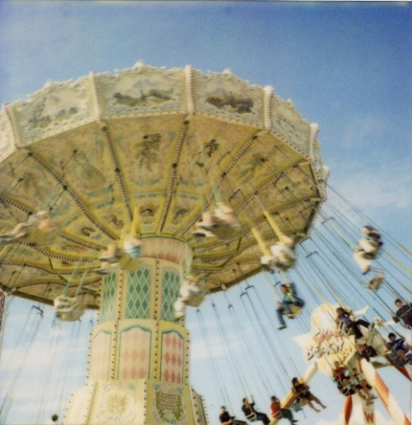 Ride at Playland in Vancouver. Photo: C. Hagemoen