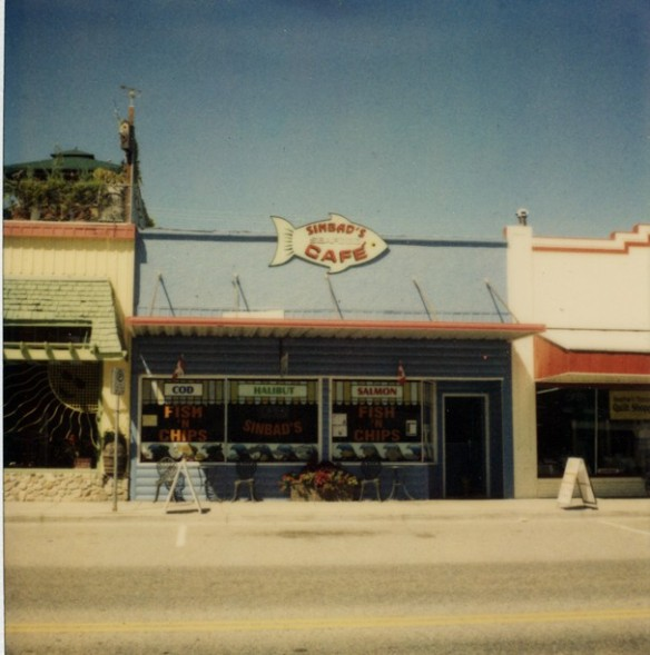 Sinbad's Cafe, Oliver, BC. Photo: C. Hagemoen