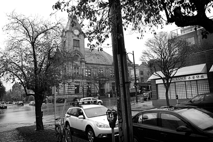Heritage Hall, 3102 Main Street at 15th. 2013. Photo: Christine Hagemoen.