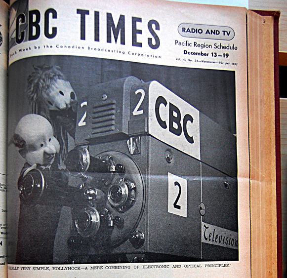 Uncle Chicamus on cover of CBC Times