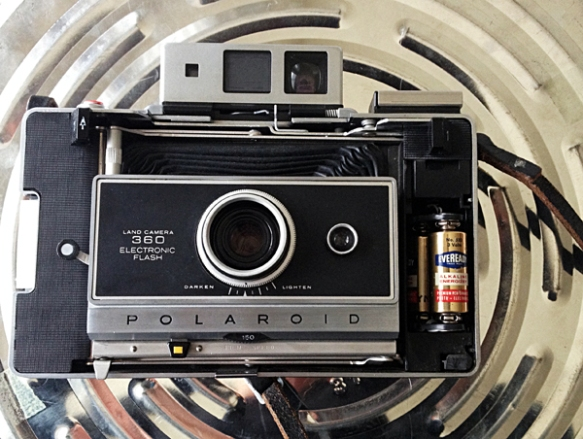 My camera with the 37-year-old original batteries still inside. Photo: C. Hagemoen