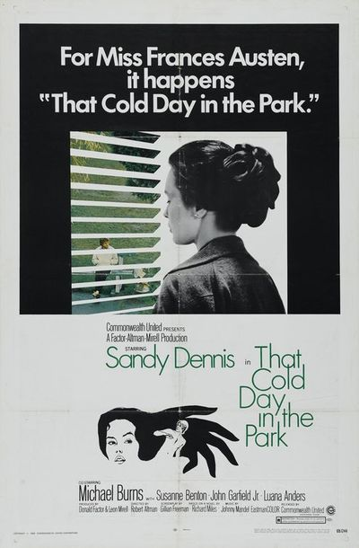 Movie poster for 'That Cold Day in the Park' (1969).