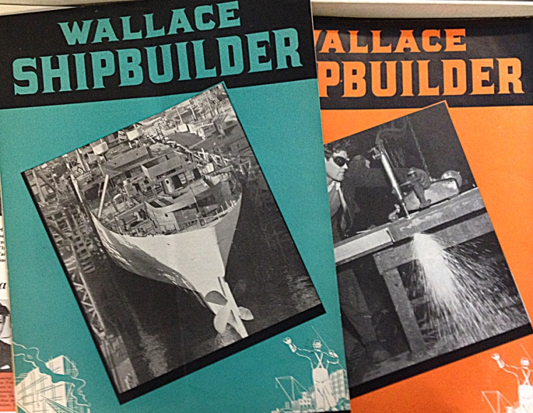 Wallace Shipbuilder covers.