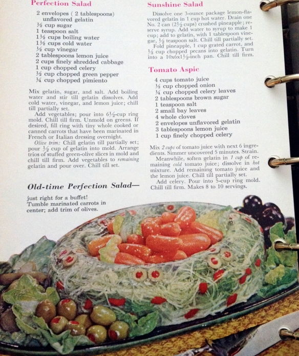 Aspic Recipe and another exemplar example of gelatin suspension.