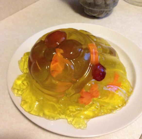 Complete gelatin failure! Photo: C. Hagemoen