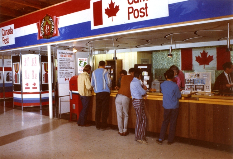 Canada Post display at the PNE, 1971. Photo: COV Archives - CVA180-6831