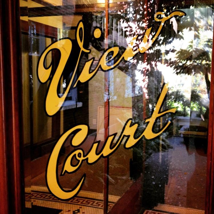 View Court front door detail. Photo: C. Hagemoen