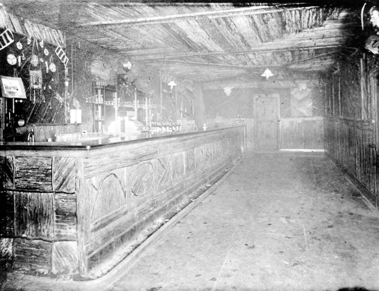 Bar at the Poodle Dog Hotel. Photo: CoV Archives - Hot P5.