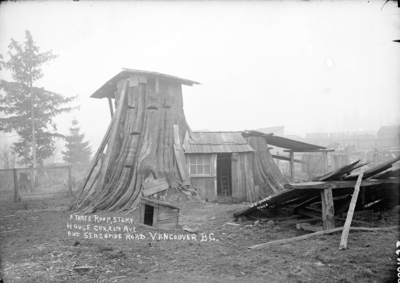 Stump House in Mount Pleasant, ca. 1908/9. Photo: CoV Archives - SGN 988