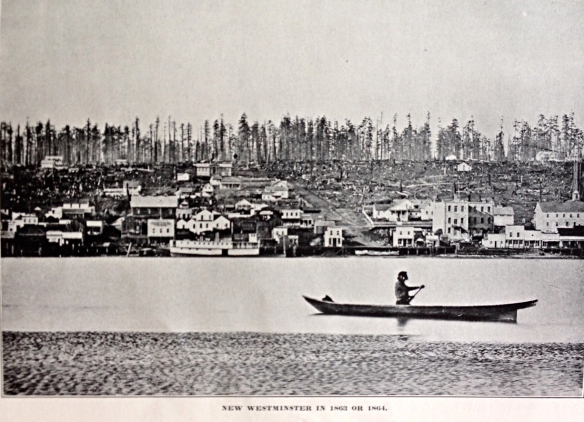 New Westminster ca. 1863.