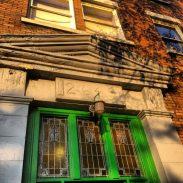 Main entrance of Frontenac Apartments at 2649 Quebec Street. Photo: C. Hagemoen